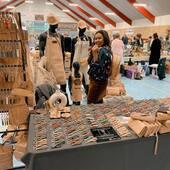 Halløjsa Esbjerg 🤟🏼😘. Du har været god ved os i dag. Husk, vi er her indtil kl. 16. Det er det hyggeligste marked @tbmarkeder har arrangeret 💪🏼👌🏼🤩  📍guldagerhallen  #esbjerg #kreamarked #krea #søndagsmarked #håndværk